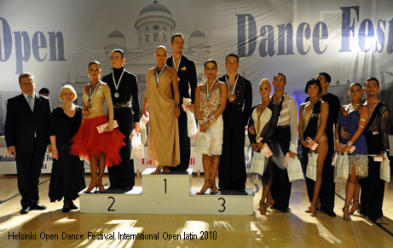 WDSF International Open latin