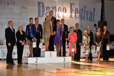 WDSF Senior 2 Open latin